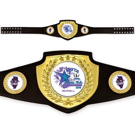 Championnat personnalisé prix ceinture bouclier série   Etsy dcec2ffa08c