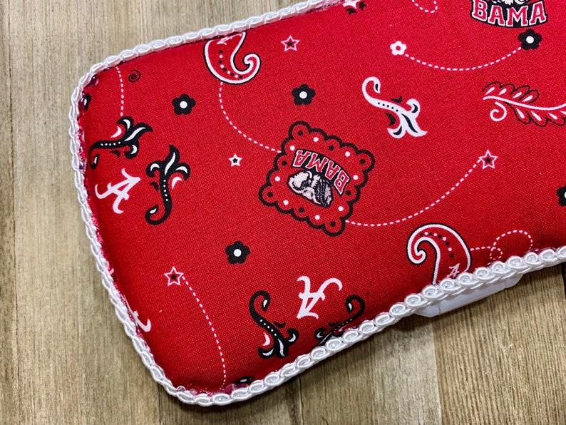 Bama Pride Pattern Custom Travel Baby Wipe Case