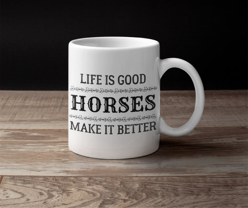 equestrian equine horse lover coffee gift mug for women wife teens her