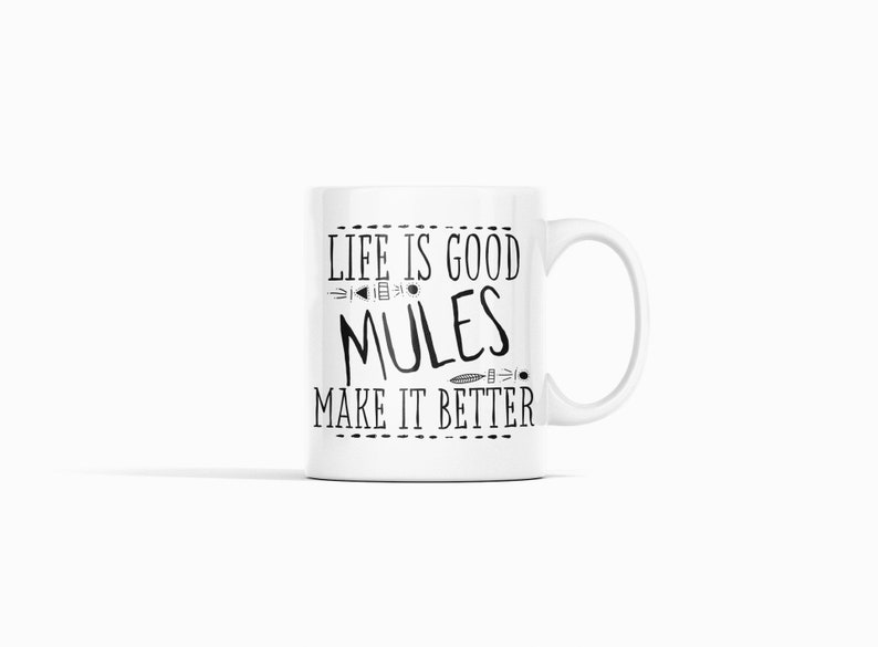 Gifts for Mule Owners Mule Rider Gifts Mule Lover Gift Mug image 0