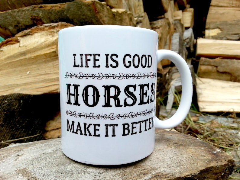 Horse Gifts for Women Equestrian Gift Mug Horse Lover Gift image 0