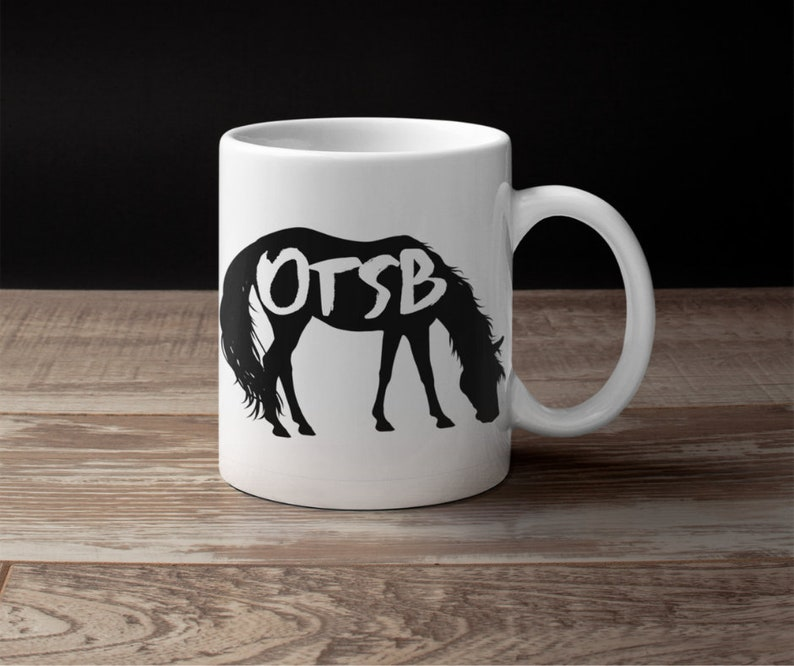 OTSB off track Standardbred horse lover coffee gift mug for women wife teens her