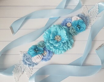 Cacheur with two sides Ocean Sashes