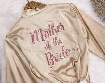 Bridesmaid Robes, Mother of the Bride Robe, Bridesmaid Gifts, Bridal Party Robes, Monogrammed Robes, Personalized Wedding Gift, Bride Gift