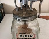 Elgin Butter Churn 4 Quart