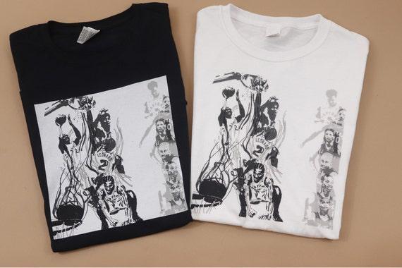 "Kawhi Leonard Raptors T-Shirt ""The Shot"""