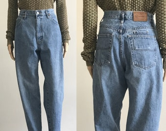 90's Vintage Mom Jeans by Ivy Brown Size Medium Large 32 x 32