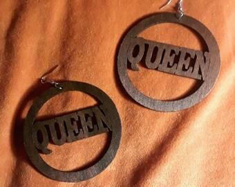 I am Queen Earrings