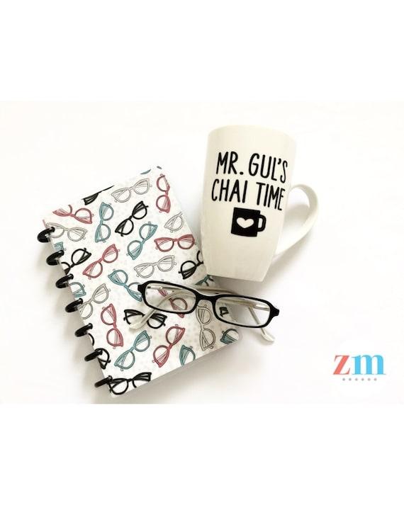 personalized custom mug mr mrs ms miss chai time tea etsy