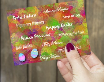 Tarjeta de Pascua * Easter Card * Ostern Karter