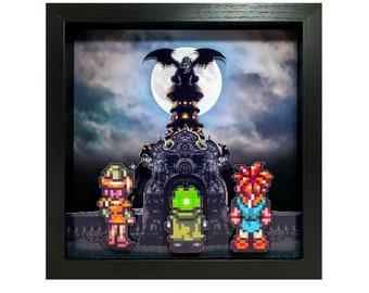 Chrono Trigger Shadow Box - Magus Castle Entrance