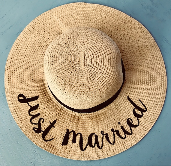 a7110c3c6a6 Just Married Sun hat