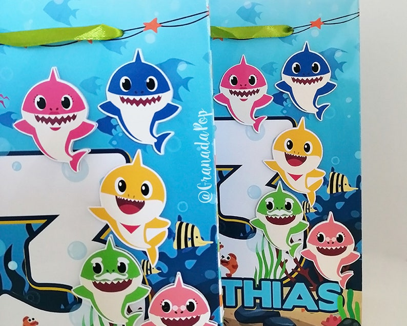 Baby Shark Party Favour Bags  Goodie Bags