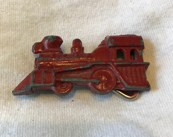 Red Train Buckle (#233)