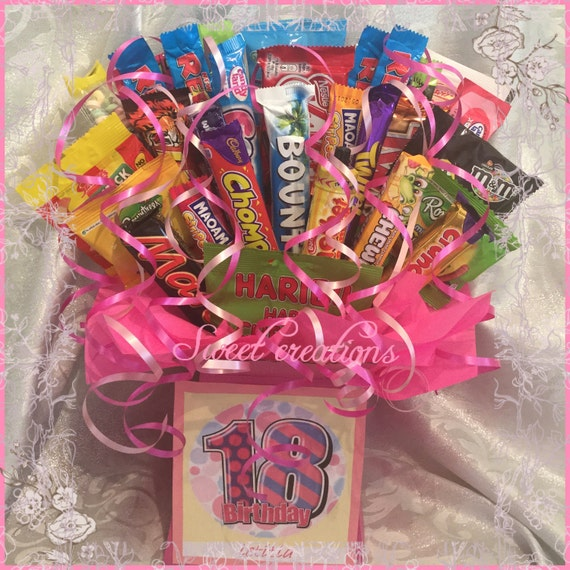 Sweet And Chocolate Bouquet 18th Birthday SWEET CREATIONS