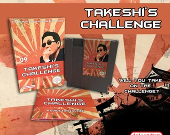 Takeshi's Challenge CIB NES NINTENDO