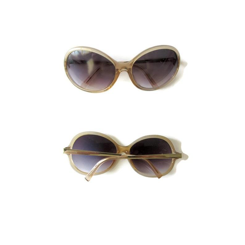 Glasses Retro Round Eyeglasses Sunglasses Oversized Boho Funky Indie Eyewear Brown Vintage 70s Cole Hipster Kenneth Sunnies qMSUzGLpV