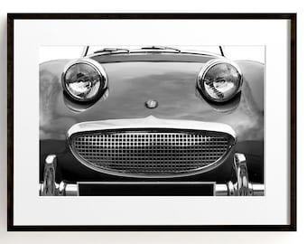 Classic Car Print, Retro Print, Office Decor, Masculine Wall Art, Man Cave, Car Photography, 1960s, Large Car Print, Sports Car Wall Art