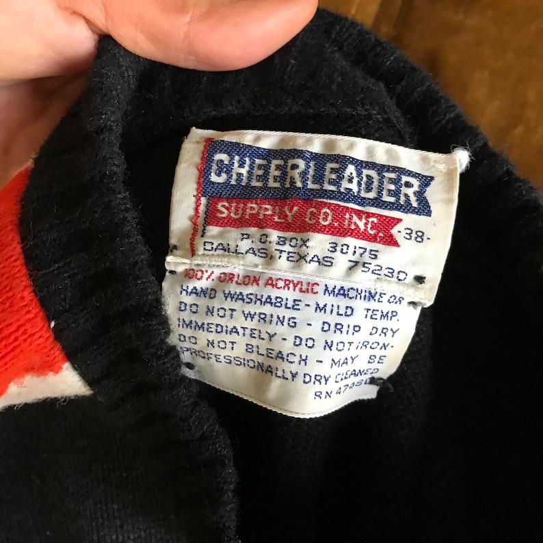 Vintage Cheerleader Supply Co Inc Cheer Sweater