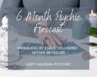 Top TV Psychic FAST 6 Month Psychic Forecast, Accurate Psychic 6 Month Forecast, Psychic Guidance, Accurate Psychic Reading, What is next?
