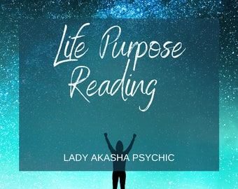 Top TV Psychic Same Day Life Purpose Reading, Tarot Reading by MP3, Accurate Psychic Reading in 24  or 48 Hours - Depending on option taken