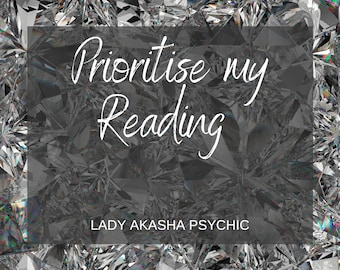 Top TV Psychic FAST Prioritise My Reading