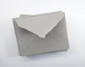 """1 pc shrubbed """"grey"""" handmade paper 162 mm x 120 mm or 186 mm x 140 mm / 210g"""