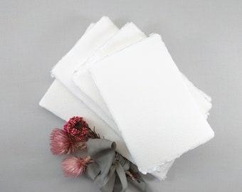 "1 pchand handmade handmade paper shade ""Ivory"" A6 / B6 / A5 DINlang Handmade Paper"