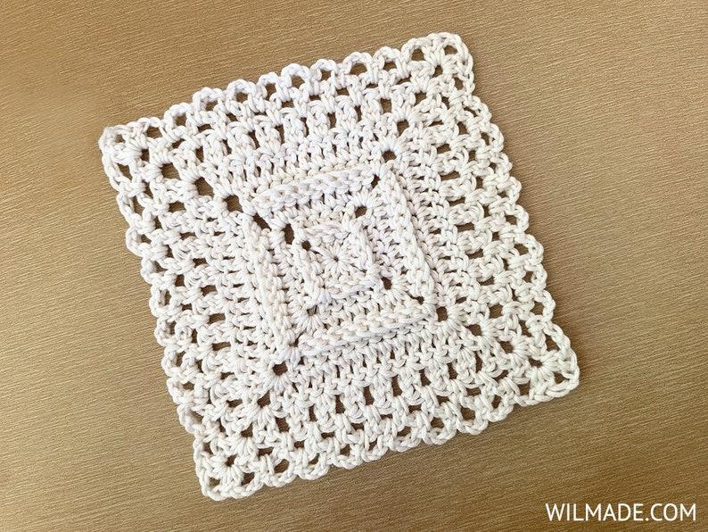 Crochet Granny Square pattern  Love Your Granny Square  pdf image 0