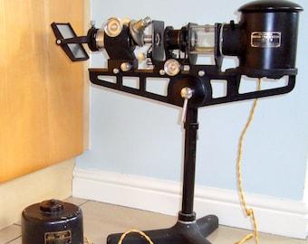 SALE!! 1930S Flatters & Garnett Precision Micro-Projector No.1645 Rare Vintage Scientific Instrument. Museum.