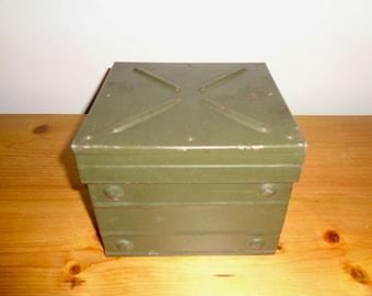 WW2 Military Transit Case Originally For A Wavemeter Class D No.1 MkII