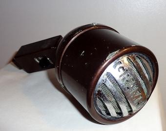 Grampian DPL Dynamic Moving Coil Microphone. 1940s WW2 Era Personal Address Microphone