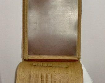 WW2 British Army Webbing, Finnigans Ltd, Dispatch/Map Case/Bag in Heavy Khaki Tan Canvas