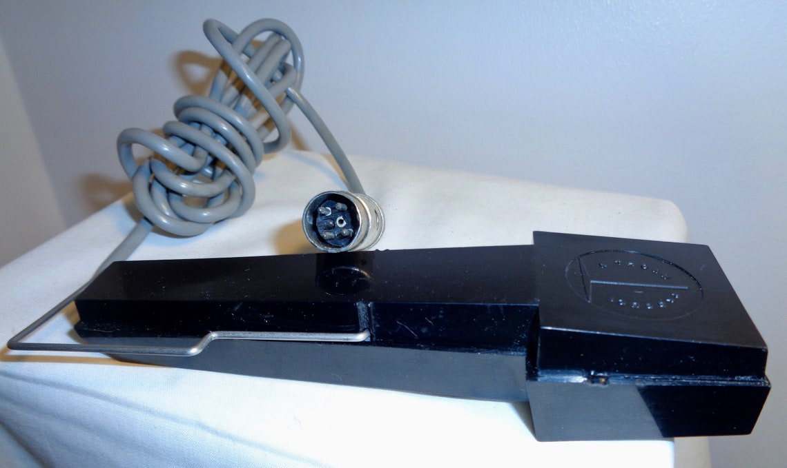 Thorn Desk/Home Microphone. Probably Used with a Reel-To-Reel Tape Recorder. Display Item. Movie Prop.