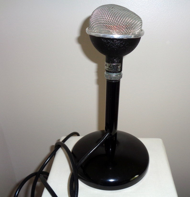 1950s ACOS High Fidelity Microphone 22-2 Cosmocord   Boxed  Made in  England  Used In The Recording Studio/Amateur Radio Transmissions