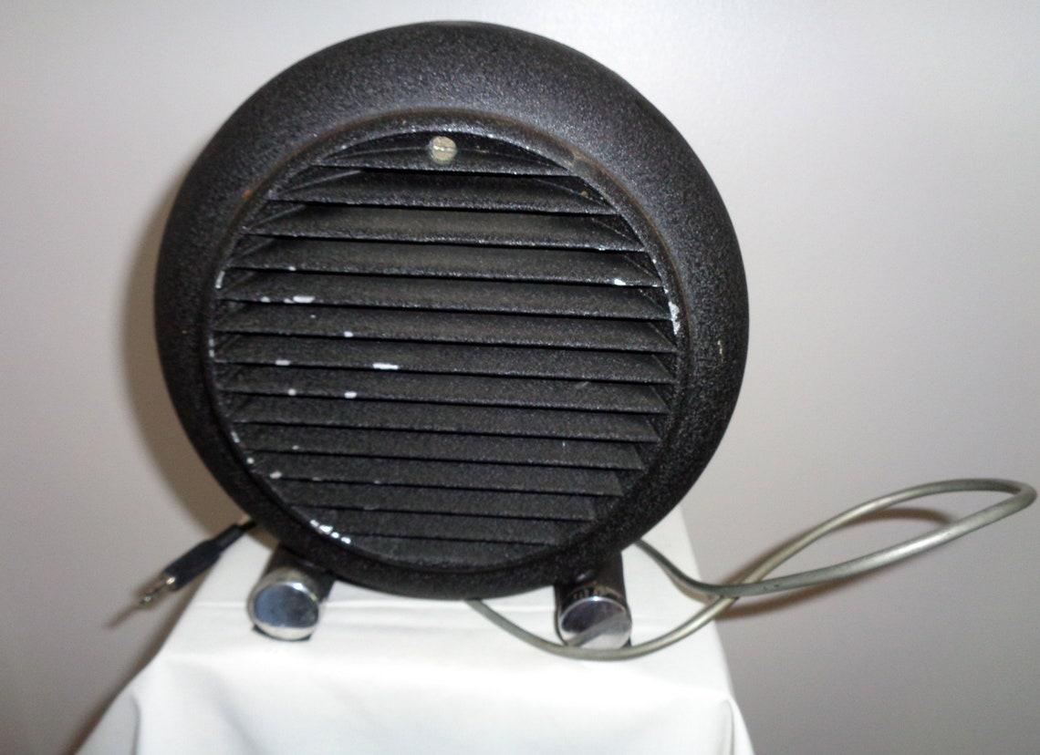Eddystone Round Loudspeaker S-811 Diecast Aluminium 7 Inch. 1950s Early Communications Receiver Equipment. Display Item