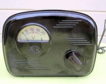 SALE!! 1950s Bakelite Spanish Televisor Variac Elvedor Reduo Modelo 1001. Early Television. Collectible.