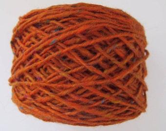 Tweed mohair - orange