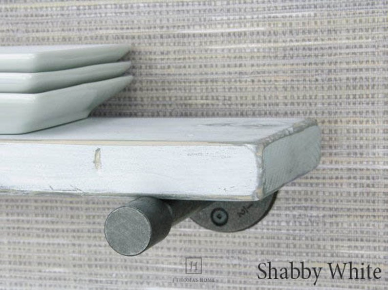 Bon Floating Shelf White Floating Shelves Farmhouse Decor Wall Shelf Shabby  Chic Floating Pipe Shelf Wood Shelves Bathroom Storage Home