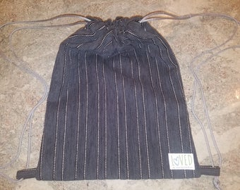Loved Bags For Charity(Gray-Strip)