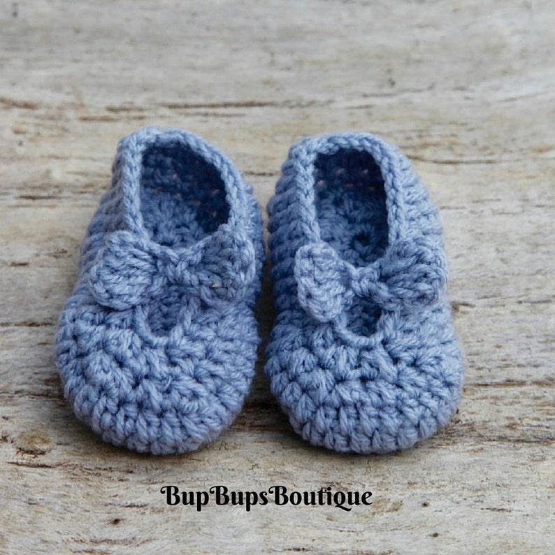 7123177bc901f Handmade Baby Girl Mary Jane - Pram & Crib shoes - Baby Gift - Crochet Mary  Jane Shoes - Baby Shoes - Baby Booties - Baby Shower