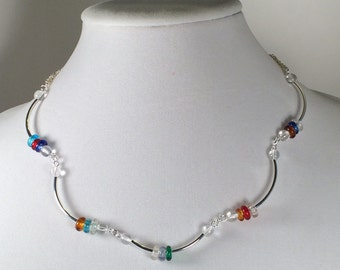Curved Candy Necklace