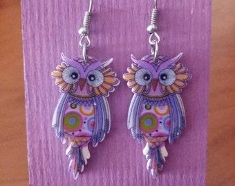 LILAS OWL EARRINGS