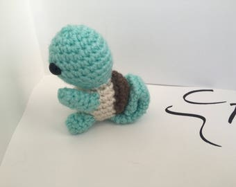 Mini Crochet Squirtle