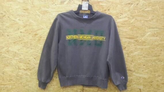 Vintage 80s 90s Champion Nothen Michigan Universit