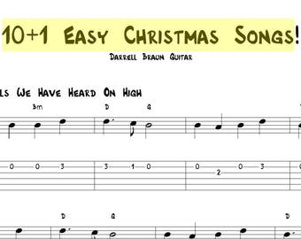 10+1 Easy to Play Christmas Songs!