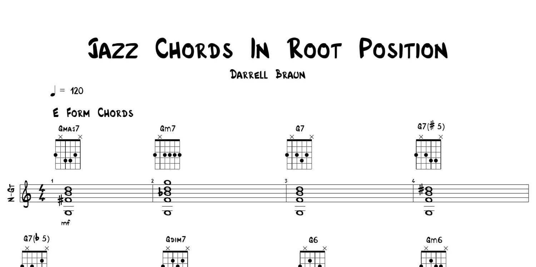 Jazz 101 An Intro To Jazz Guitar Etsy