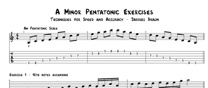 3 Pentatonic Exercises Every Guitarist Should Know image 0