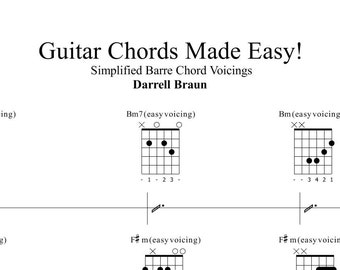 Barre Chords Made Easy!