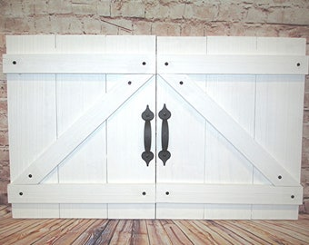 Excellent Mini Barn Doors Etsy Download Free Architecture Designs Lukepmadebymaigaardcom